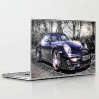 porsche Laptop & iPad Skins featuring Porsche by ian hufton