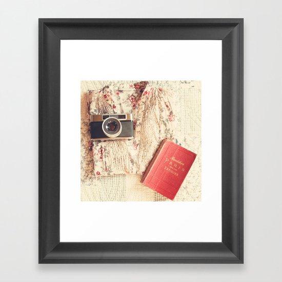 what's your dream ...? Framed Art Print