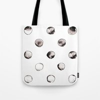 circles Tote Bags featuring CIRCLES by LEEMO