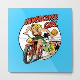 Herstory: Undercover Girl Metal Print