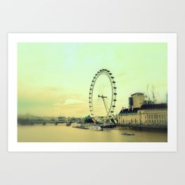 Impressions of London Art Print