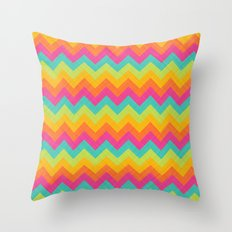 COLORS OF SUMMER 1 Throw Pillow
