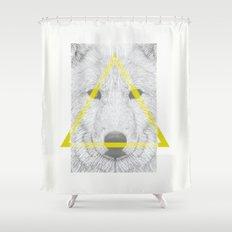 WOLF III Shower Curtain