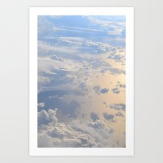 The Clouds Below Art Print