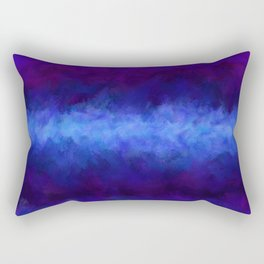 Dark Cosmic Storm Rectangular Pillow