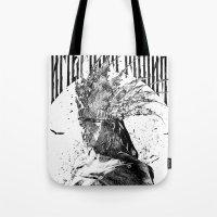 american Tote Bags featuring American by jones C @Hong Kong