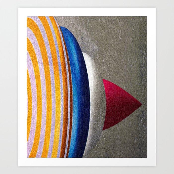Superkreisel Art Print
