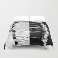 camouflage Duvet Covers featuring Camouflage by RvHART