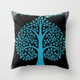Bodhi Tree0107 Throw Pillow