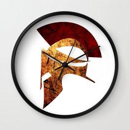 Spartan warrior Wall Clock