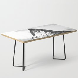 Black and White Mountain Coffee Table