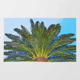 Palm Tree Fronds Rug