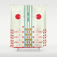 spanish Shower Curtains featuring Spanish Guitar by Karim Luengo