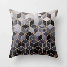 Daydream Cubes Throw Pillow