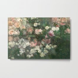 Garden in May by Maria Oakey Dewing, 1895 Metal Print