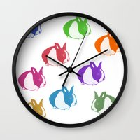 floyd Wall Clocks featuring Floyd by Tooter