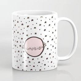 Pink Saturn Coffee Mug