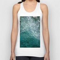 splash Tank Tops featuring Splash by Leah McPhail
