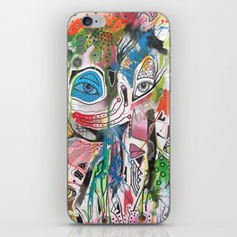 The Point Being iPhone Skin