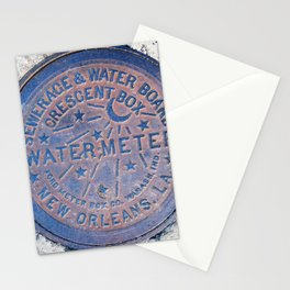 New Orleans Water Meter Stationery Cards