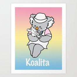 Koalita Pet Hospital Art Print