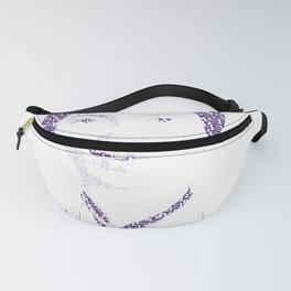 Emily Dickinson - Word Portrait Fanny Pack