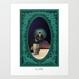 The Sleuth Art Print