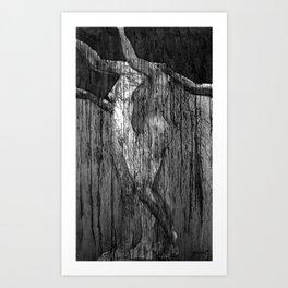 Magdalena III (una anunciación) Art Print