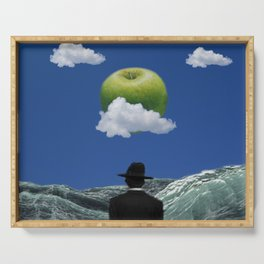 Apple Magritte Serving Tray