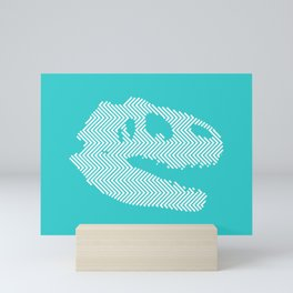 Tyrannosaurus Rex Skull Mini Art Print