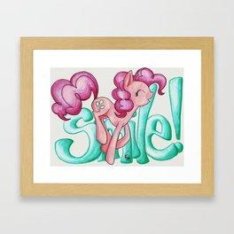 Smile Smile Smile Framed Art Print