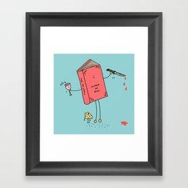 Murder She Read Framed Art Print