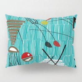 Mid-Century Tiki Tok Pillow Sham