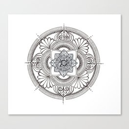 Mandala Four  Canvas Print