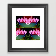 Magical Orchids Framed Art Print