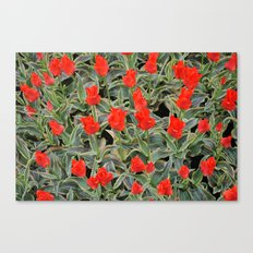 Fire of Love Canvas Print