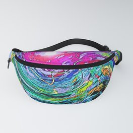 """""""Action Comic Book Cover"""" Print Fanny Pack"""