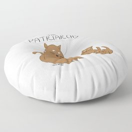 Let's Smash The Patriarchy Kittens Floor Pillow