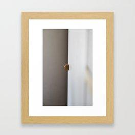 Split Space Framed Art Print