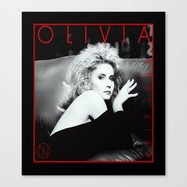Olivia Newton-John - Soul Kiss - 1985 Canvas Print