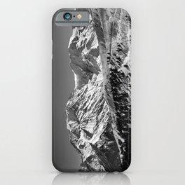 Mt. Blanc (Mono) iPhone Case