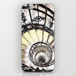 The Spiral Staircase iPhone Skin