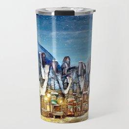 Wintry Hogsmeade Travel Mug