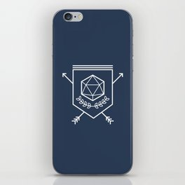 Roleplayer's Crest iPhone Skin