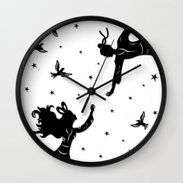 The Cowherd & the Weaving Maiden Wall Clock