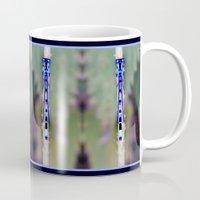 dragonfly Mugs featuring dragonfly by EnglishRose23