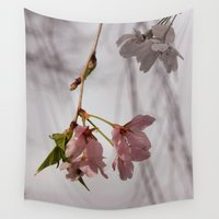 cherry Wall Tapestries featuring Cherry by Adventures In Staceland