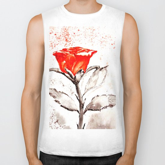 Just another rose Biker Tank