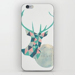 I'd rather be a deer iPhone Skin