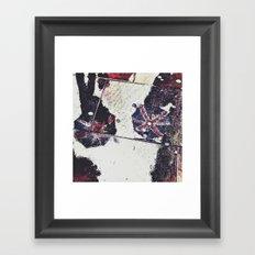 Jubilee rain  Framed Art Print